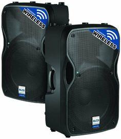 "Alto Professional Truesonic TS115W Powered Speaker Cabinet, Black by Alto Professional. $457.96. 800 Watt 2-Way 15"" Speaker with Wireless Connectivity"