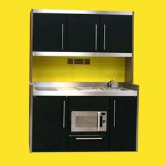 Mini Kitchen Compact Kitchen Tiny Kitchen Small Kitchen Space in proportions 905 X 900 Mini Kitchen Sink Units - You won't ever be able to call your Portable Kitchen Cabinets, Kitchen Cabinets Uk, Small Kitchen Cabinet Design, Kitchen Sink Units, Small Space Kitchen, Small Spaces, Kitchen Ideas, Small Apartments, Micro Kitchen