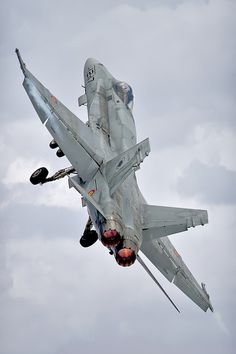 Fighter not a lover:  An F-18 Hornet performing at the 2009 RIAT at RAF Fairford. Photo by Neil O'Connell on 500px