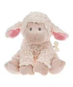 Look what I found on #zulily! Waggle Head Lullaby Lamb Plush Toy #zulilyfinds