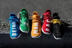 "adidas Originals x Pharrell Williams NMD ""Hu"" Collection 