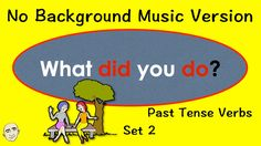 What Did You Do? | Verb Practice | Set 2 | Easy English Practice | ESL |...