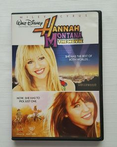 Hannah Montana The Movie (DVD, 2009, 2-Disc Set, with DisneyFile Digital Copy) in DVDs & Movies, DVDs & Blu-ray Discs | eBay