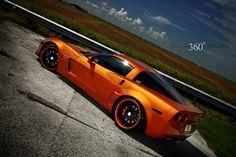 ORANGE VETTE - Chevrolet Wallpaper ID 805519 - Desktop Nexus Cars