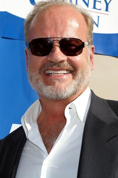 Kelsey Grammer Parties at Playboy Mansion with Baby Daughter