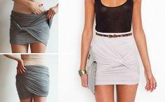 No sé si tanto como para usar de falda, pero me parece una buena idea para ponerse un pareo corto con estilín.