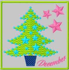 {Months- Crazy December- designsbycuties-8491376-80908 K.H.}  Free Embroidery Designs, Cute Embroidery Designs