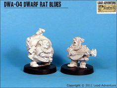 Dwarves Rat blues  Lead Adventures