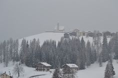 Colle Santa Lucia under the snow, March 2014