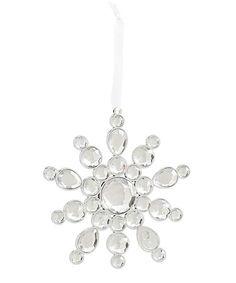 K&K Interiors Crystal Snowflake 4 Ornament | zulily