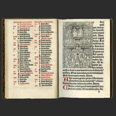 Printed Book of Hours (Use of Paris).