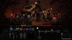 Появилась новая RPG игра - Darkest Dungeon