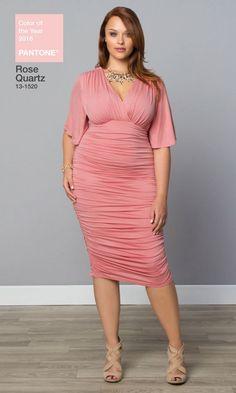dd193b761d7d9 Plus Size Ruched Dress Trendy Plus Size Clothing