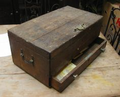 Antique Wooden Chest - Sold!!!
