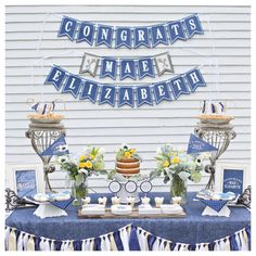 Keys To Success Graduation Banner by Charming Touch Parties. Deluxe, triple card stock layered. Customizable to school colors.