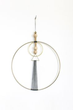 BRASS MULTI GEO WALL HANGING - Young & Able  - 1