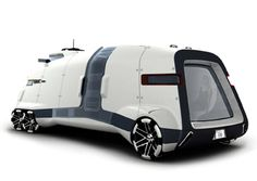 January 2005 General Motors Advanced Design's GMC PAD has won the California Design Challenge at the Los Angeles Auto Show. The GMC PAD is a futuristic-look General Motors, Weird Cars, Cool Cars, Mobile Architecture, Gmc Motorhome, Automobile, Glamping, Design Competitions, House On Wheels