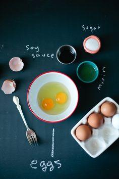 Making tamago-yaki, Japanese omelette | molly yeh