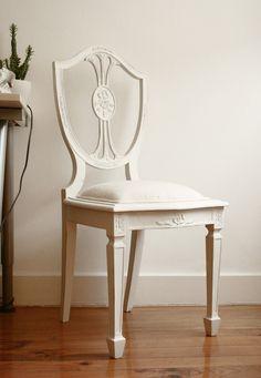 Romantic 'Dona Maria' Chairs Revived. €150,00, via Etsy.