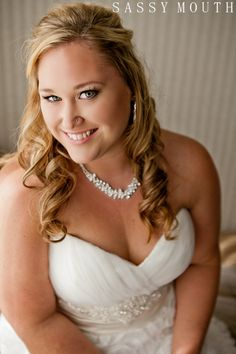 Beautiful Plus Size Bride Wickham Park Cabin Garden Wedding - Sassy Mouth - Shannon and Billy