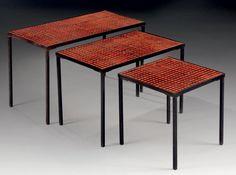 Pierre bonnard screens and paris on pinterest - Table gigogne plexi ...