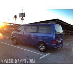 Multivan vw campervan Www.chilicampers.com
