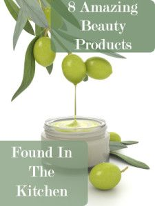 8 Amazing Beauty Products that come from your kitchen!  These are great!