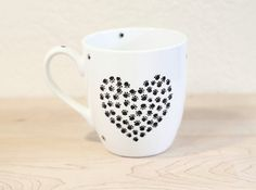 Gift for Pet lovers Gift for coffee lover dog by SylwiaGlassArt, $24.00