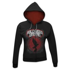 Hollywood Undead Levitate Girlie Hoodie