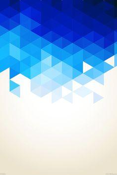 FreeiOS7   va91-wallpaper-triangle-fall-blue-pattern   freeios7.com