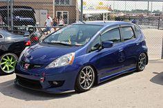 Honda Vtec, Honda Civic, Honda Jazz Sport, Fit Car, Honda Fit, Japan Cars, Turbo S, Car Show, Custom Cars