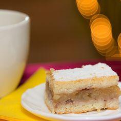 Rácsos almás pite ahogy A konyha világa készíti | Nosalty Cheesecake, Food, Cheesecakes, Essen, Meals, Yemek, Cherry Cheesecake Shooters, Eten