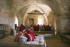 LEBANON, INSIDE AN OLD HOUSE