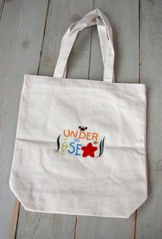 Child's Tote Bag by RedBobbinDesigns on Etsy, $12.00