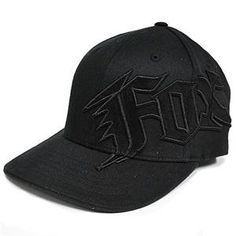 132a7c77054d5 Fox Racing Youth New Generation Flexfit Hat - One size fits most Black  Price