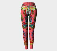 """Leggings+""""FRIEDRICH""""+by+ART+OF+THE+MYSTIC+OTTO+RAPP Never Fade, Our Body, Printed Leggings, Montreal, Mystic, Hug, My Design, Vibrant, Workout"""