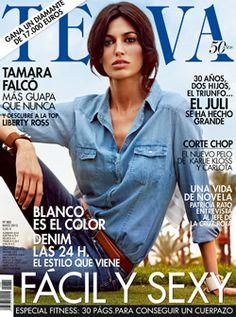 TELVA mayo 2013 #TELVArevista #DaviniaPelegri #Portada