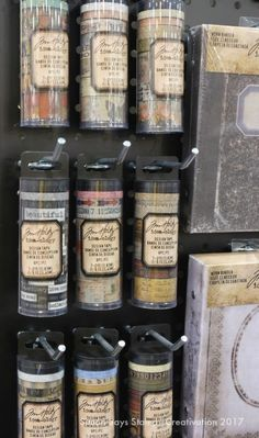 Are you seeing this?? Beautiful new tapes from Tim Holtz! Each pack is so cool, with skinny tapes and larger tapes that all coordinate. These are really beautiful and perfect for all of our mixed media projects (and our planners!)
