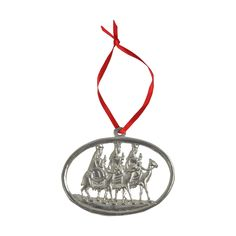 Pewter Ornament - Three Kings in Seasonal Decor, Holiday Decor, O Holy Night, Pewter, Christmas Ornaments, Gifts, Tin, Presents, Christmas Jewelry