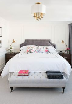 Au Lit Fine Linens | #AuLitAtHome: Step Inside Vanessa Francis' Beautiful Bedroom
