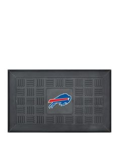 Fanmats  Nfl Buffalo Bills Medallion Door Mat - Black