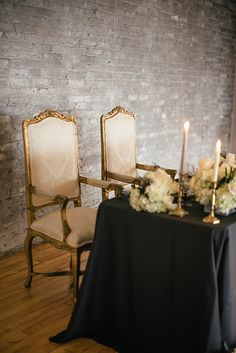 Industrial Wedding Inspiration with a Big Dash of Glam