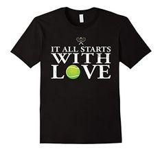 Men's It All Starts With Love Funny Tennis T Shirt Funny Small Black Shoppzee Tennis Funny T Shirt http://www.amazon.com/dp/B01DOY5UIK/ref=cm_sw_r_pi_dp_tnccxb0W96P3K