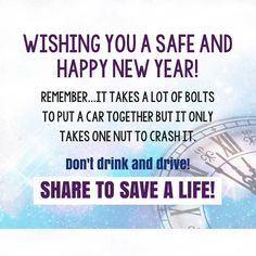 Definitely a message worth passing along! Be safe !! And have a Great #Weekend :) #Tgif