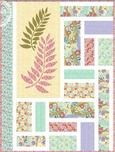 Free Quilt Pattern - Fern Valley Quilt