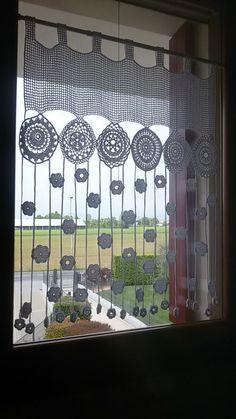 The post . appeared first on Gardinen ideen. The post .gardine appeared first on Gardinen ideen. Crochet Motifs, Filet Crochet, Crochet Doilies, Crochet Flowers, Crochet Stitches, Crochet Curtain Pattern, Crochet Curtains, Curtain Patterns, Curtain Ideas