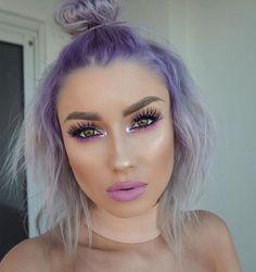 @lolaliner looking lovely in Purple Rain + Sterling!