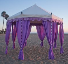 Gypsy Faire Tents - good idea for parties/wedding/events