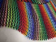 Pavo Real Necklace. <3 Ecuador  Check out more on indigenous beading culture at EarthlingGems.com