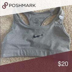 Gray Nike sports bra! Gray dri-fit Nike sports bra Nike Intimates & Sleepwear Bras